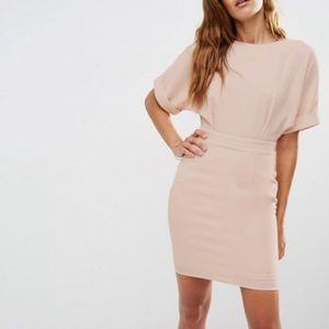 ASOS Blush Wiggle mini Dress size 12